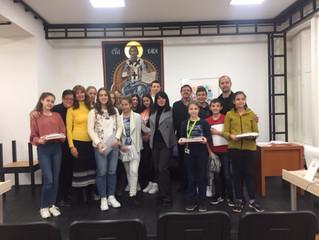 У Српској гиманзији одржано такмичење у лепом писању ћирилице