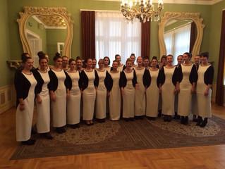 Наступ школског хора у Руском културном центру