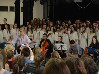 Гостовање хора новосадске гимназије на Тргу ружа