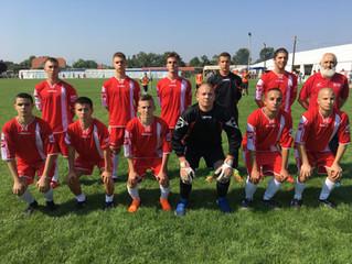Наши фудбалери други на турниру у Дески