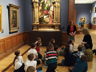 У Музеју лепих уметности