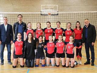Одбојкашице школе у Мађарској лиги