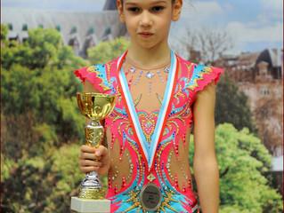 Нови успеси Елене Вукмир, првакиње Мађарске у ритмичкој гимнастици
