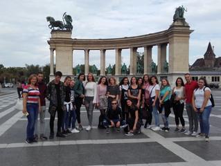 Гостовање ученика Шесте београдске гимназије у Будимпешти