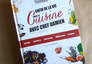 Almanach | Enfin de la vie dans la cuisine avec Chef Damien | Editions Alain Ducasse