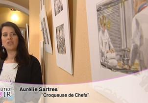 """Interview France 3 au Musée Escoffier pour """"Ecoutez voir"""""""
