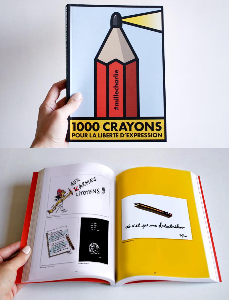1000 crayons pour la liberté de la presse | Illustration | France | Atelier  Aurélie Sartres