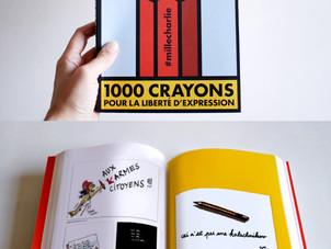 1000 crayons pour la liberté de la presse
