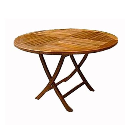 Mesa dobrável em madeira Teca