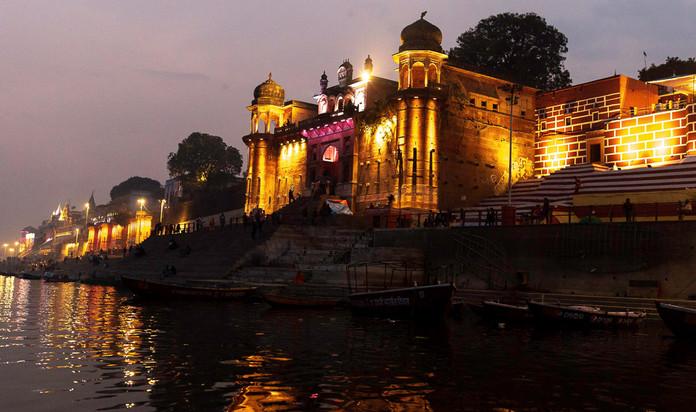 Taps Media Architecture Photography In Varanassi, India