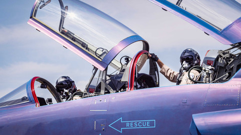 Taps Media Fighter Jet Testing with Dillon Precision