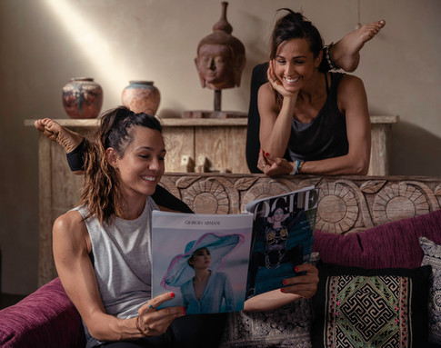 Taps Media Lifestyle Photography with The Darma Twins