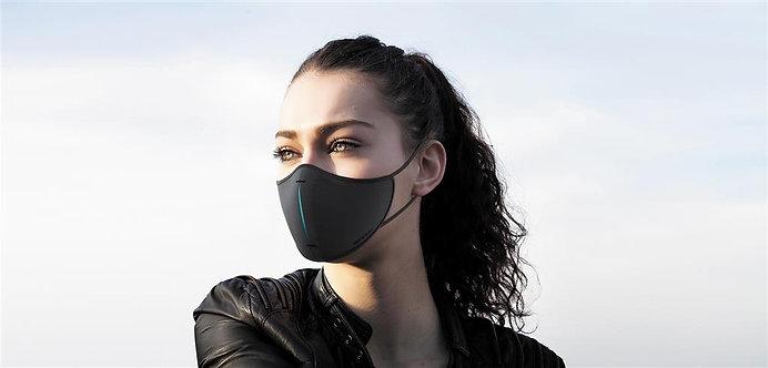 Set de máscara protectora  negro, azul