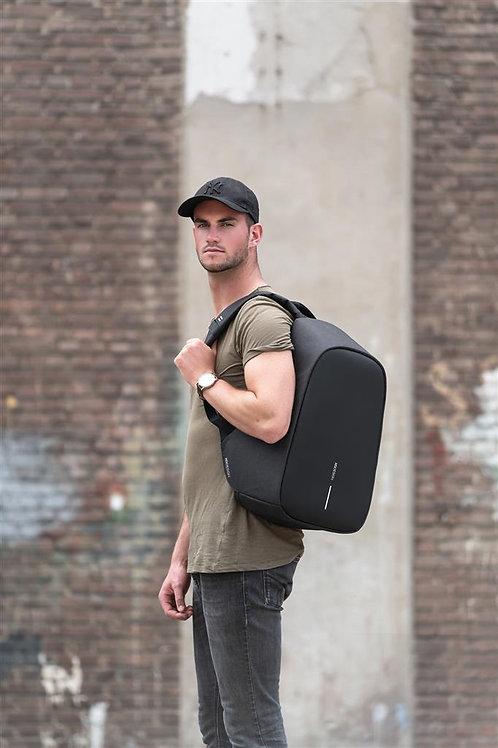 Bobby Hero XL, mochila antirrobo negro, negro