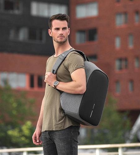 Bobby Hero XL, mochila antirrobo gris, negro