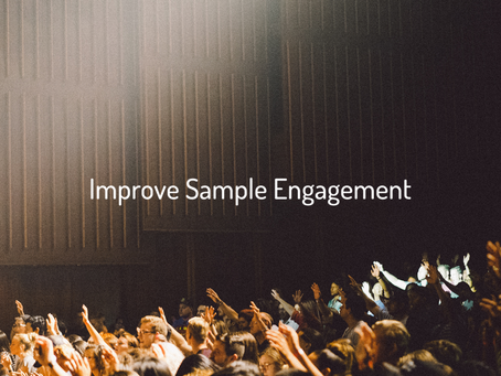 How to improve your sample engagement