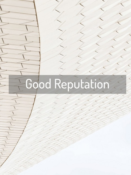 How to maintain good reputation