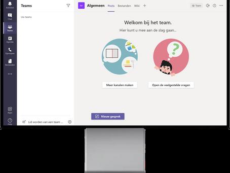 Werken met Microsoft Teams