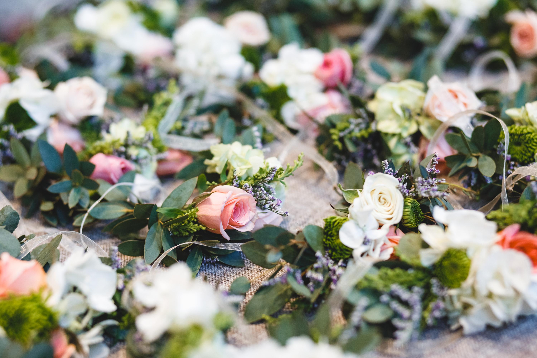 Corsage de flores - Cléa