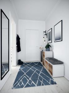 Eingangsbereich preiswert gestalten mit ecoleo.