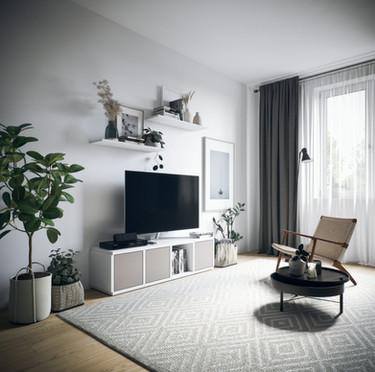 ecoleo Steckregal als TV-Möbel einsetzen