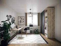 Home Office optimal einrichten mit dem Büroschrank von ecoleo