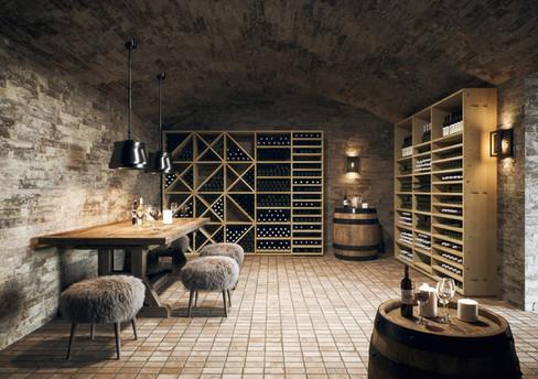 Weinkeller einrichten mit den Massregalen von ecoleo