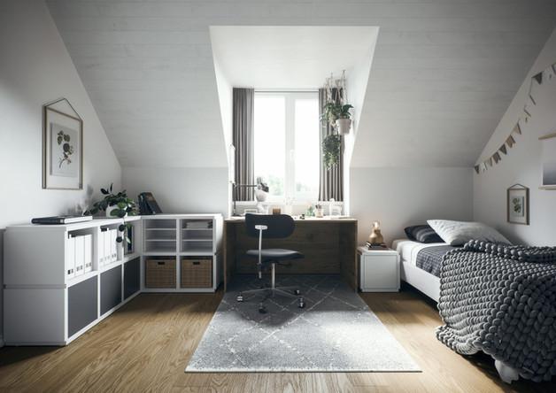 Jugendzimmer mit ecoleo gestalten.