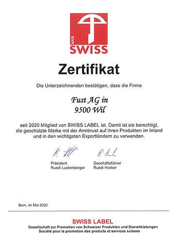 ecoleo_SwissMade_Zertifikat