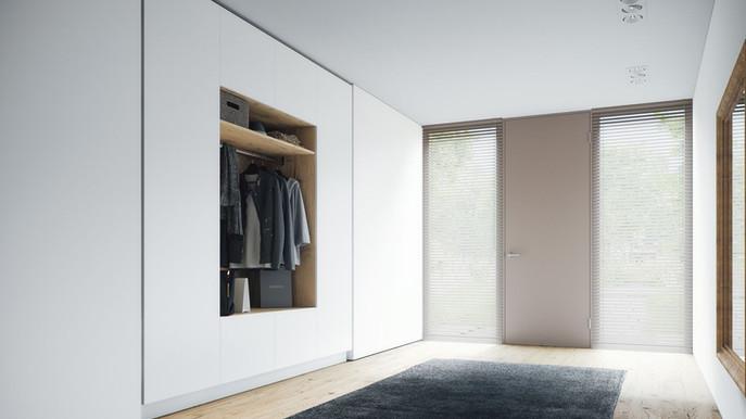 Massgefertigte Garderoben vom führenden Schweizer Online-Schreiner ecoleo