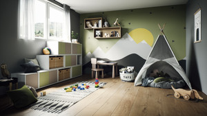 Stabile Möbel im Kinderzimmer