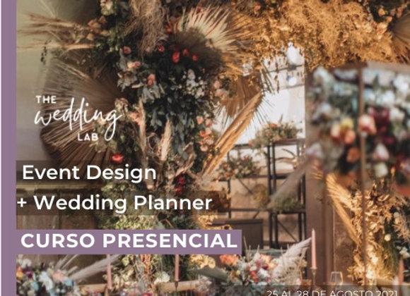 Curso de Diseño y Planeación de eventos
