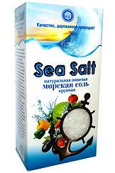 Крупная морская соль премиум класса