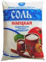 Соль илецкого месторождения производства ООО Руссоль