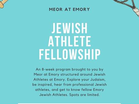 Rabbi Fleshel Reflects on the Jewish Athlete Fellowship