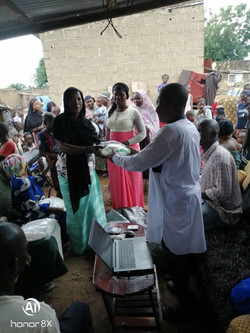 October: Distribution of Mosquito Nets