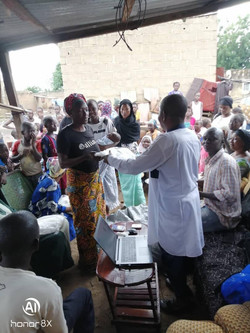 October 2020: Distribution of Mosquito Nets