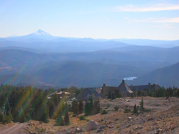 Timberline lodge on Mt Hood, Oregon - site of the first Mt hood meeting