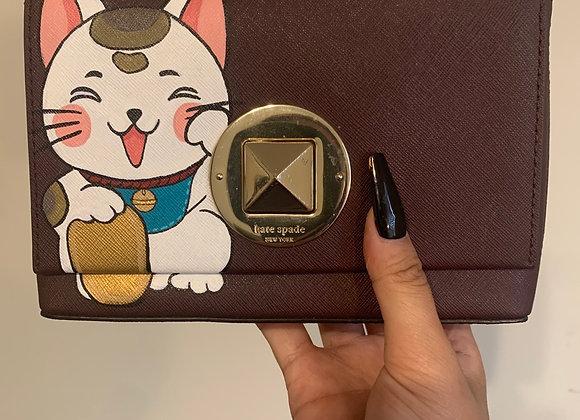 Maneki Neko Crossbody Bag