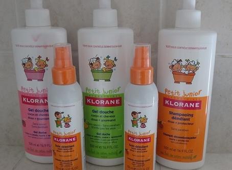 Klorane nous offre sa gamme enfant!