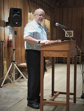 Kenneth Chamlee reading at JC Campbell Folk School