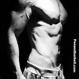 Abs, core, sixpack, vascular, vascularity, Daniel Schou, photo by Meline Höijer Schou