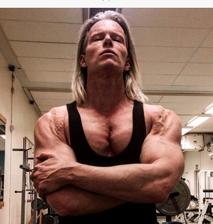 pec workout Daniel Schou