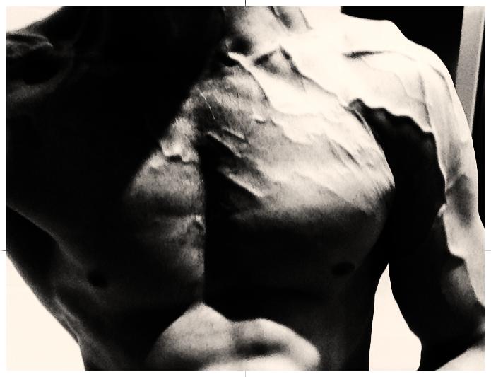 Daniel Schou chiselled physique