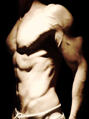 Sixpack, vascular, chiseled, deffa, workout for definition, lean body, Daniel Schou, photo by Meline Höijer Schou