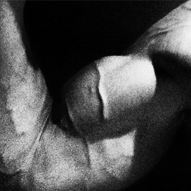 Daniel Schou. Biceps workout.