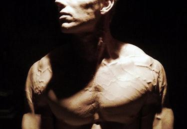 Daniel Schou, photo by Meline Höijer Schou, vascular, vascularity, shoulders, defined pecs