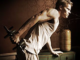 Triceps kick back, triceps exercise, shoulder, Daniel Schou, photo by Meline