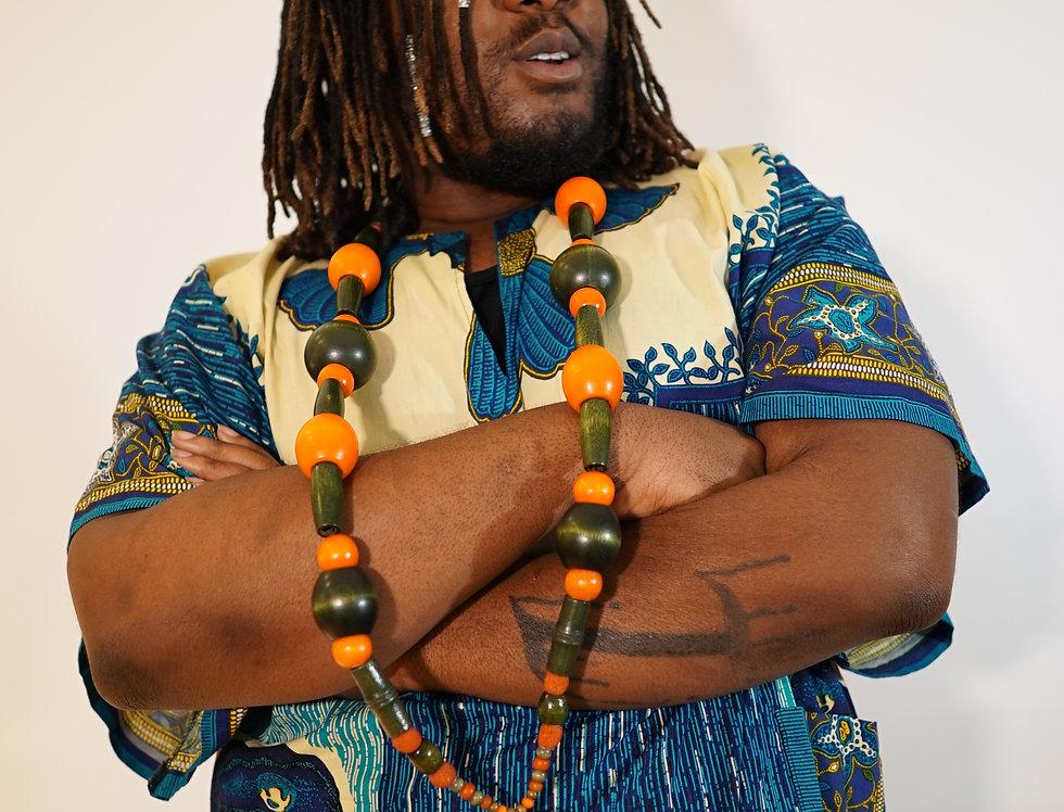 Zulu Sea Heart Pendant Necklace