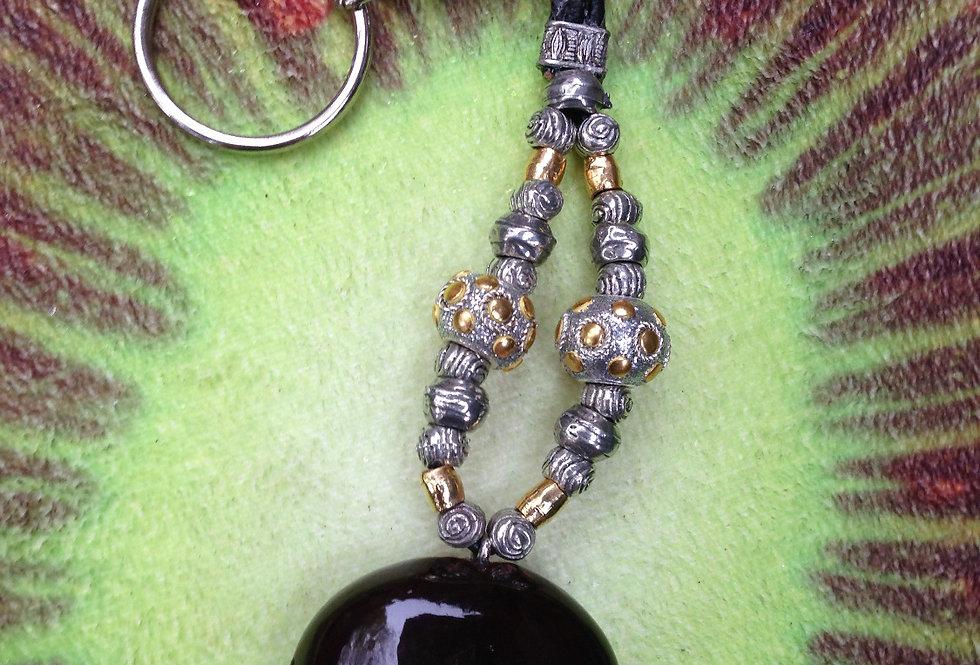 Ball & Chain - Sea Heart Key chain
